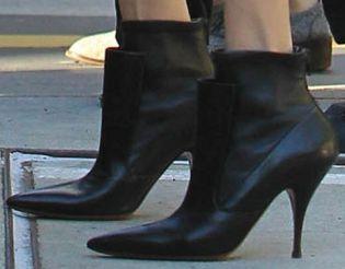 Picture of Angelina Jolie shoes