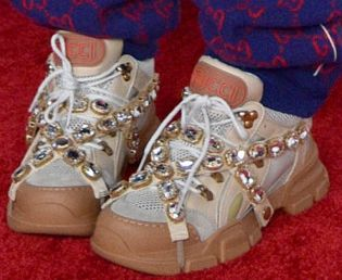 Picture of Billie Eilish shoes