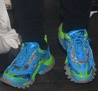 Picture of DaBaby shoes