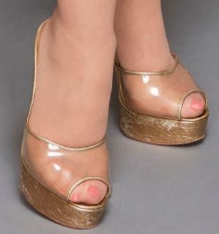 Picture of Dolly Parton shoes