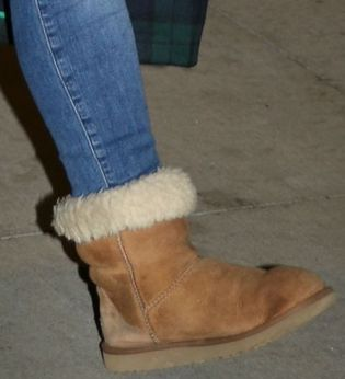 Picture of Hilary Duff shoes
