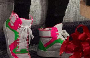 Picture of JoJo Siwa shoes