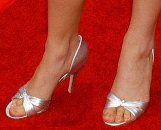 Picture of Rebecca Herbst shoes