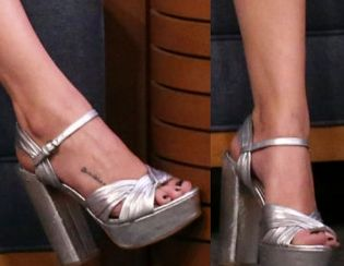 Picture of Selena Gomez shoes