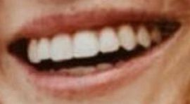 Picture of Abigail Cowen teeth and smile