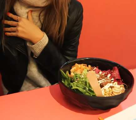 Alexandra Andersson found a Japanese vegan restaurant in Stockholm, Sweden called Taku-Taku.