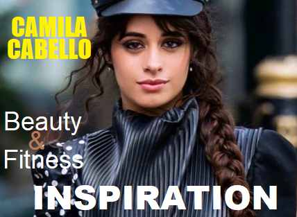 Picture of Camila Cabello with the words Weight Loss Inspiration