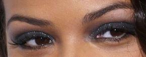 Picture of Christina Milian eyeliner, eyeshadow, and eyelash enhancements