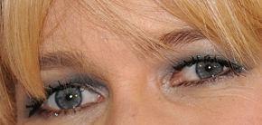 Picture of Claudia Schiffer eyeliner, eyeshadow, and eyelash enhancements