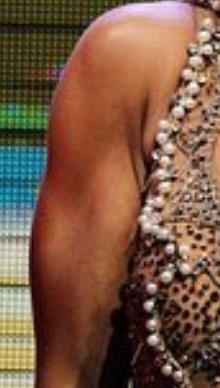 Picture of Daniella Karagach muscles