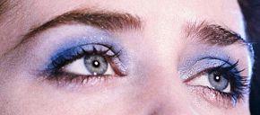 Picture of Emily Blunt eyeliner, eyeshadow, and eyelash enhancements