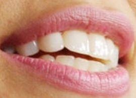 Picture of Eva Mendes teeth and smile