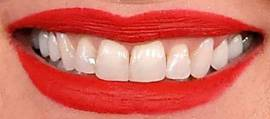 Picture of Faith Hill teeth and smile