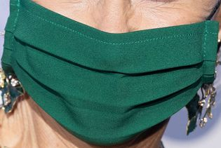 Picture of Helen Mirren coronavirus mask