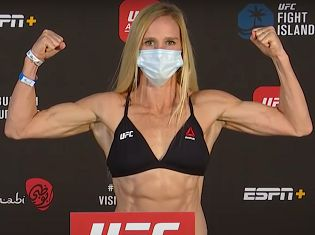 Picture of Holly Holm muscles
