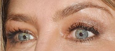 Picture of Jennifer Aniston eyes, eyelashes, and eyebrows