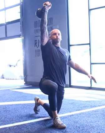Luka Hocevar shares kettlebell workout tips.