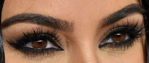Picture of Kim Kardashian eye beauty
