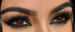 Picture of Kim Kardashian eye beauty