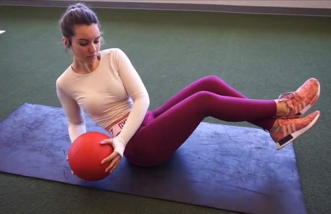 Maryana Dvorska workout.