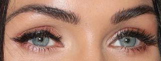 Picture of Megan Foxeyes, eyelashes, and eyebrows
