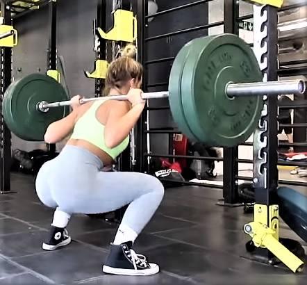 Meggan Grubb workout.