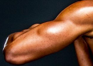Picture of Michael B Jordan muscles