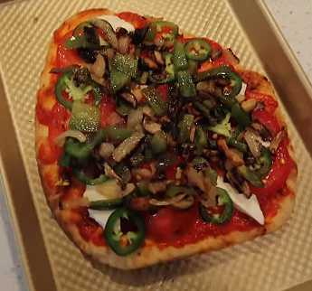 Molly Bailey YouTube fashion and DIY celebrity Molly Bailey shared her family's beloved healthy homemade pizza recipe