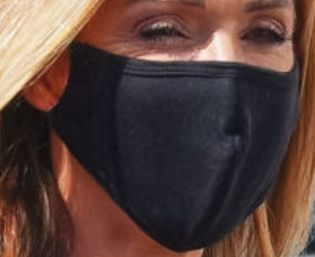 Picture of Monica Aldama coronavirus mask