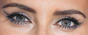Picture of Nelly Furtado eyeliner, eyeshadow, and eyelash enhancements