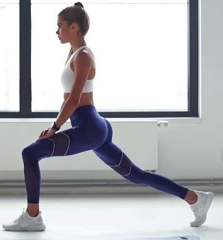 Pamela Reif workout.