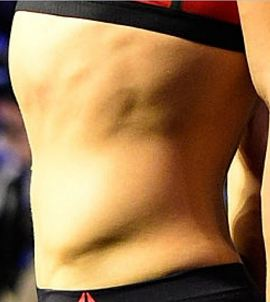 Picture of Ronda Rousey muscles