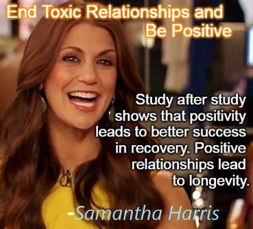 Samantha Harris is cancer free.