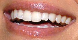 Picture of Sarah Shahi teeth and smile