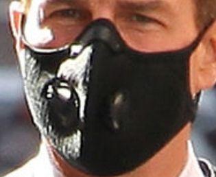Picture of Tom Cruise coronavirus mask