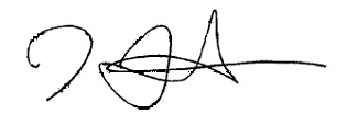 Jimmy Uso's signature