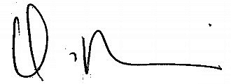 Nicki Minaj's signature