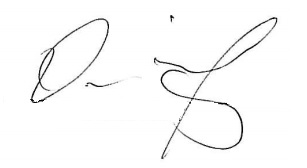 Omari Grandberry's signature