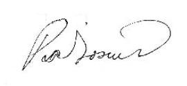 Pia Toscano signature