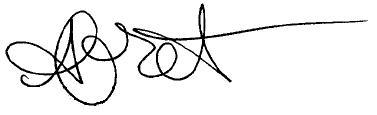 Alanis Morissette's signature