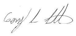 Bubba Watson's signature