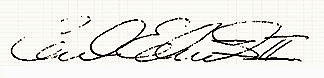 Carl Edwards signature