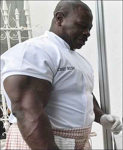 White House head chef Andre Rush
