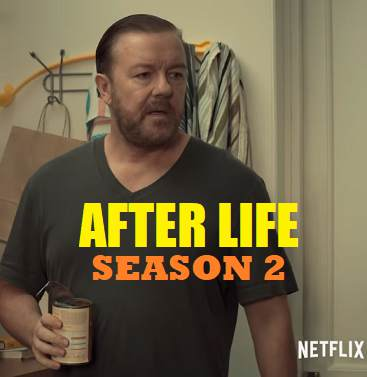 An image of Countdown To season 2 of Ricky Gervais drama-comedy After Life on Netflix