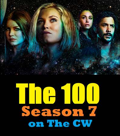 An image of Countdown To Season 7 of The 100 on The CW Network