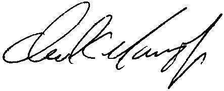 Dan Marino signature