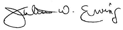 Dr. J - Julius Erving signature