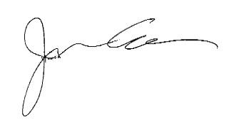 J. Cole's signature
