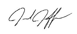 Jared Jeffries signature