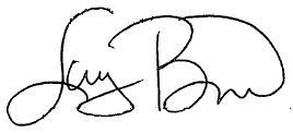 Larry Bird signature